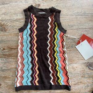 Missoni for Target Zig Zag Sweater Dress Baby 18m
